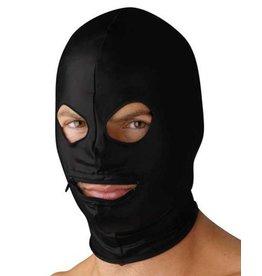 Strict Leather Spandexhaube Mundöffnung mit Reißverschluss