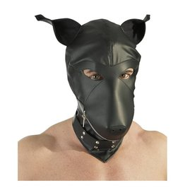 Fetish Collection Lederimitat Dog Mask