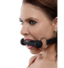 Master Series Mr. Ed Lockable Silicone Horse Bit Gag