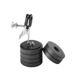 Master Series Nippelklemme mit Magnetgewichten von Onus