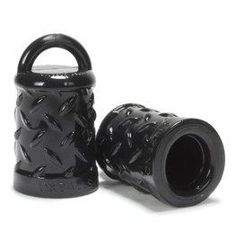 Oxballs Nippelsauger in Schwarz mit Struktur