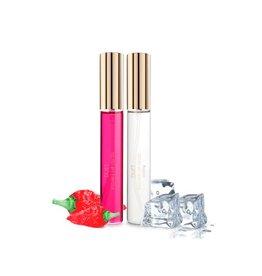 Bijoux Indiscrets Duet Kissable Nip Gloss - Abkühlend und wärmend - 26ml