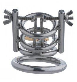 Master Series Deluxe Cleaver Harnröhrenspreizer CBT Keuschheitskäfig