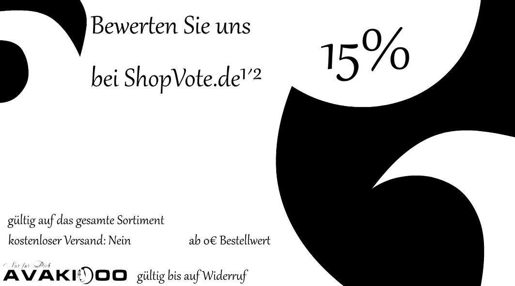 Bewertung Uns auf ShopVote