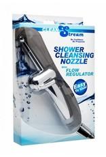 CleanStream Duschreinigungsdüse mit Durchflussregler