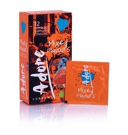 Pasante Adore Kondome mit Geschmack - 12 Kondome