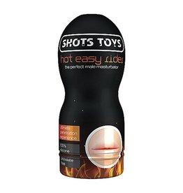 Shots Toys Hot Easy Rider Masturbator - Kunstmund mit Kappe
