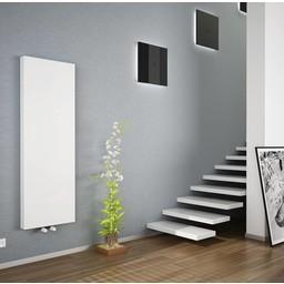 Copa Copa verticale radiator T20, diverse maten, vlakke voorzijde, kleur wit