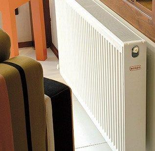 Copa Copa Konveks paneelradiator T22 H600, diverse breedte, inc. bevestigingsset, Vanaf €