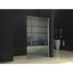 Wiesbaden Inloopdouche + muurprofiel 1000x2000 10mm NANO glas