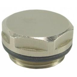 Saniglow Radiator-blindstoppen+O-ring   1/2