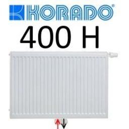 Korado Korado paneelradiator T21 H400, diverse breedte, midden aansl.