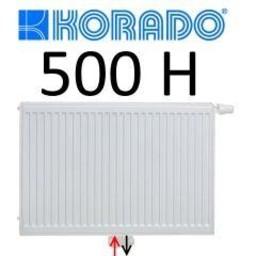 Korado Korado paneelradiator T33 H500, diverse breedte, midden aansl.