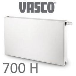 Vasco Vasco Flatline T22, H700, diverse breedte, wit