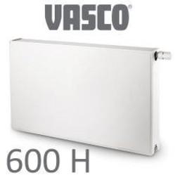 Vasco Vasco Flatline T33, H600, diverse breedte, wit