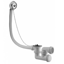 Saniglow Bad-plugoverloop-comb. ketting+plug 40mm