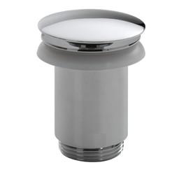 Saniglow Luxe clickwaste 5/4 hoog model chroom