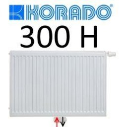 Korado Korado paneelradiator T22 H300, diverse breedte, midden aansl.