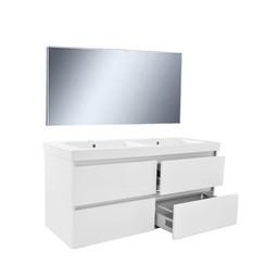 Wiesbaden Vision meubelset (incl. spiegel) 120 cm wit