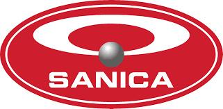 Sanica handdoekradiator, wit, recht, B600, diverse hoogtes