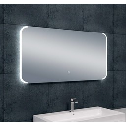 wiesbaden bracket dimbare led condensvrije spiegel 1200x600