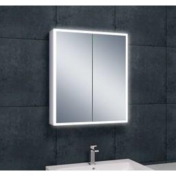 Wiesbaden WB Quatro spiegelkast +verlichting 60x70x13