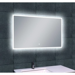 Wiesbaden WB Quatro-Led condensvrije spiegel 100x60
