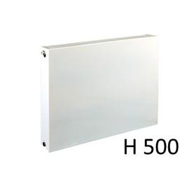 E.C.A. paneelradiator T33 vlakke voorplaat H500, diverse breedte
