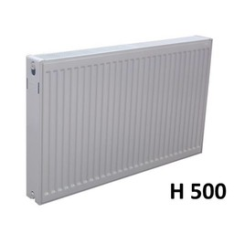 Sanica Compact 6 paneelradiator T22 H500 diverse breedte,