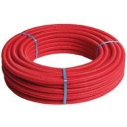 Henco alupex buis met mantel rood 100m 16 x 2