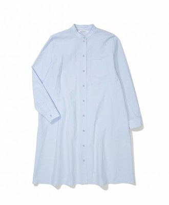 Norse Projects Norse Projects Perla Paper Cotton Dress Pale Blue
