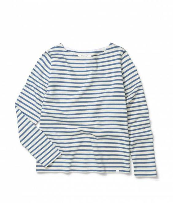 Norse Projects Norse Projects Inge Classic Stripe Coronet Blue