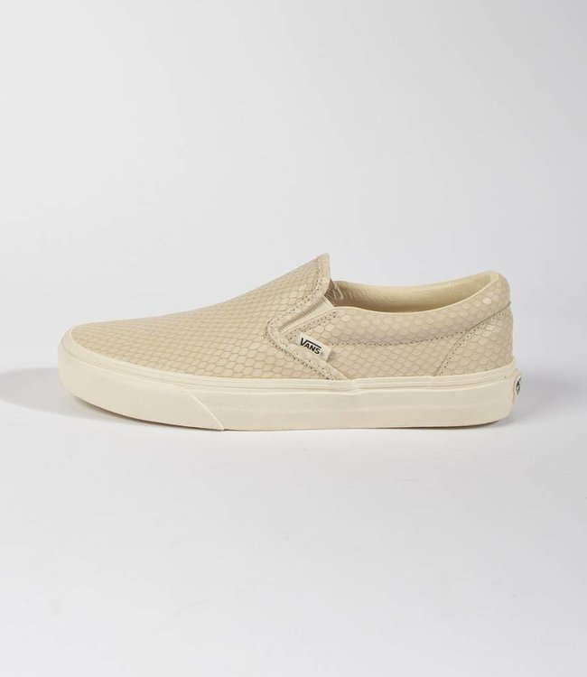 Vans Vans Classic Slip-On Snake Leather Antique White
