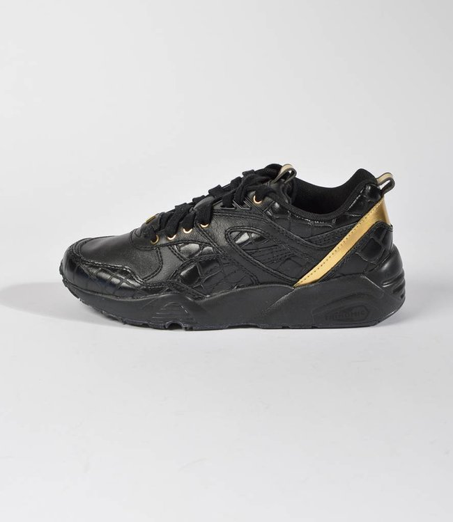 Puma Puma R698 Exotic Wmns Black Gold