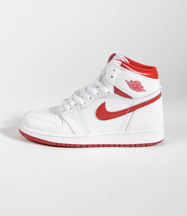 Nike Nike Air Jordan 1 Retro OG White/Varsity Red GS