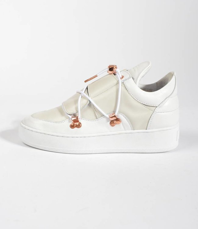 Filling Pieces Filling Pieces Low Top Nagoya Laced Frost