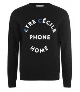 Etre Cecile Etre Cecile EC Phone Home Black Sweatshirt