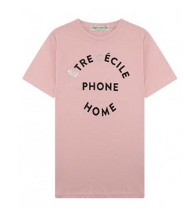 Etre Cecile Etre Cecile EC Phone Home Tee  Pink