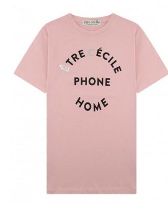 Etre Cecile Etre Cecile EC Phone Home Tee  Pink