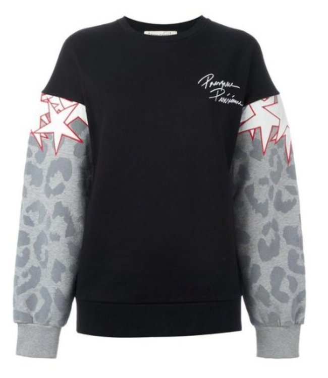 Etre Cecile Etre Cecile Superstar Oversized Sweatshirt Black/Grey