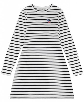 Etre Cecile Etre Cecile Scribble Dog Badge Dress