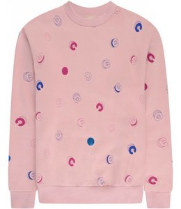 Etre Cecile Etre Cecile C All Over Boyfriend Sweat Pink
