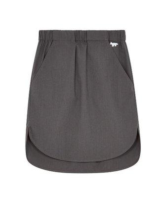 Maison Kitsune Maison Kitsune Plain Ada Elastic Skirt