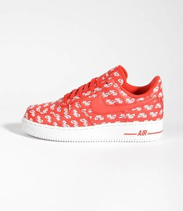 Nike Nike Air Force 1 '07 QS All Over Red