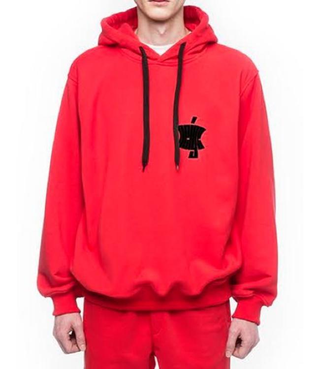 Neige Tees Neige Logo Hoodie Red
