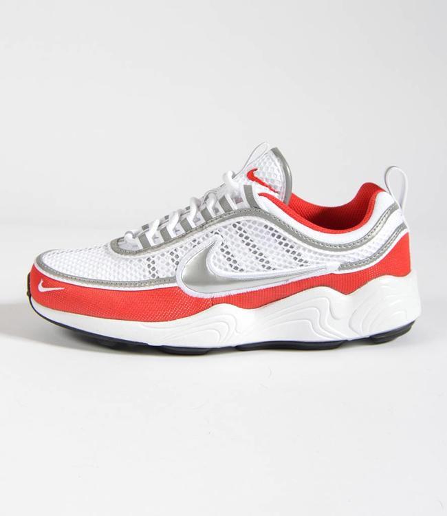 Nike Nike Air Zoom Spiridon White/Metallic Silver - University Red