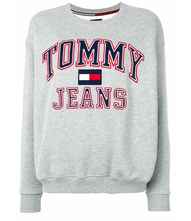 Tommy Jeans 90s CN Sweat Grey