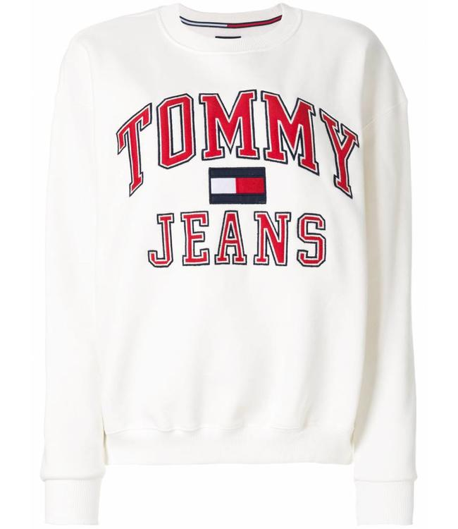 Tommy Jeans 90s CN Sweat White