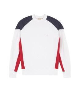 Maison Kitsune Kitsune Color Block Sweat Shirt