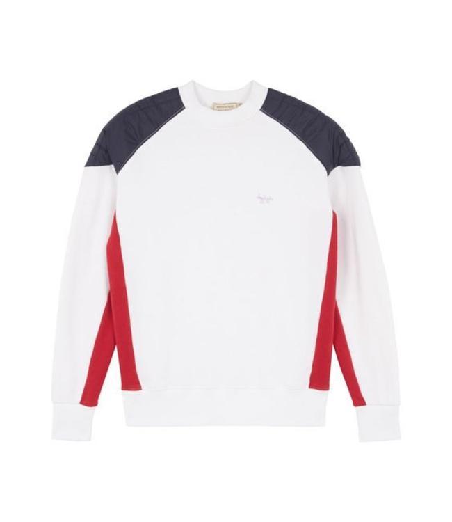 Maison Kitsune Kitsune Color Block Sweat Shirt